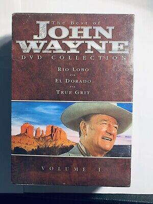 Best of John Wayne Collection 1 (DVD, 2003, 3-Disc Set) -