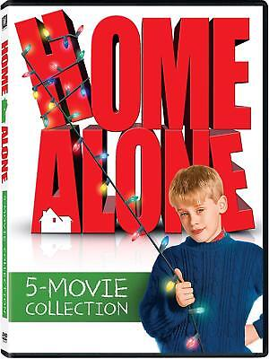 Home Alone 1-5 Movie Collection New DVD 5 Disc Box Set Brand New Free Shipping