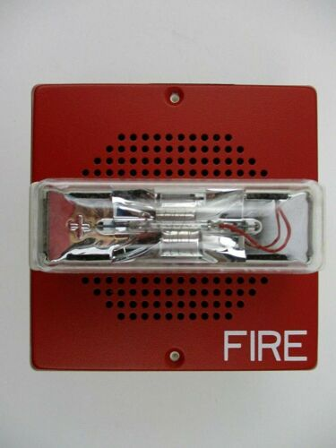 Eaton CH70-24MCW-FR Wall Mount Wheelock Red Chime Strobe