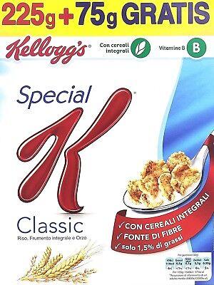 Kellogg's Special Classic Copos de Maíz con Arroz Cebada Trigo Integral Fibra