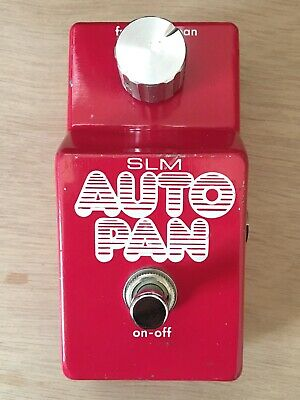 SLM Auto Pan pedal. Made in Japan. 1970's. Patent Pending. Maxon