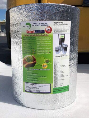 SmartSHIELD -5mm Premium Reflective Insulation Roll, Foam Core Radiant Barrier