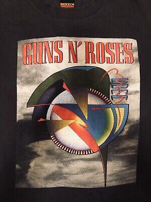 Guns N Roses T-shirt Vintage Coma World Tour 1993 BROCKEM