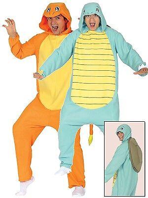 Erwachsene Damen Herren Schildkröte Lizard Spieler Fest Kostüm Kleid Outfit Groß ()