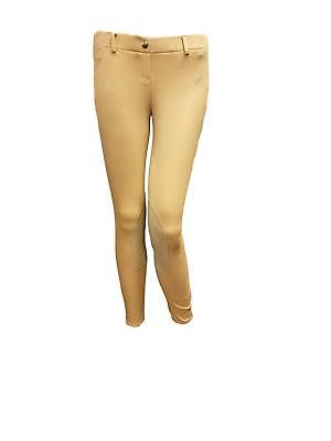 (One Stop Exclusive Shires Essentials Low Rise Ladies Pull On Riding Breeches)