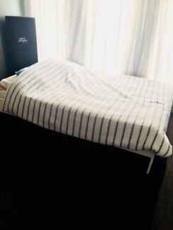 Ikea queen size bed frame and mattress