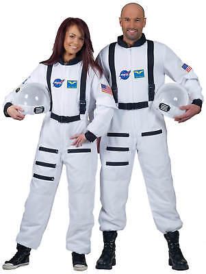 Astronaut Overall weiss Karneval Fasching Kostüm - Kostüm Weißen Overalls