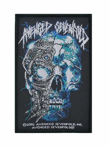 Avenged Sevenfold Biomechanical Woven Sew On Battle Jacket Patch - 092