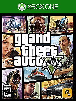 Grand Theft Auto 5 Gta V For Xbox One Console Or Xbox One S New Ships Fast