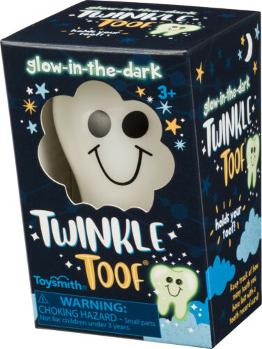 Twinkle Toof, Tooth Fairy Keeper, Glow-in-the-Dark NIB Free Shipping Baby Tooth