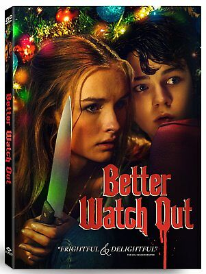 Better Watch Out DVD HORROR USED VERY GOOD  - Horror Movies Watch Halloween