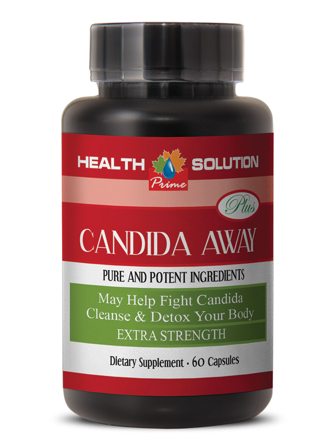 INGREDIENT QUALITY - CANDIDA AWAY - cleanses & detoxes your