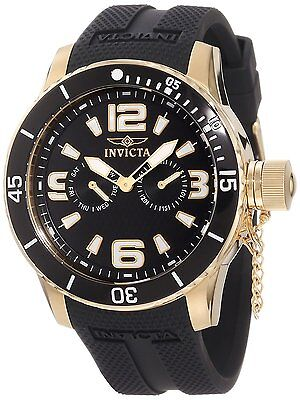 Купить Invicta - Invicta Specialty 18k Gold Ion-Plated Mens Watch 1792
