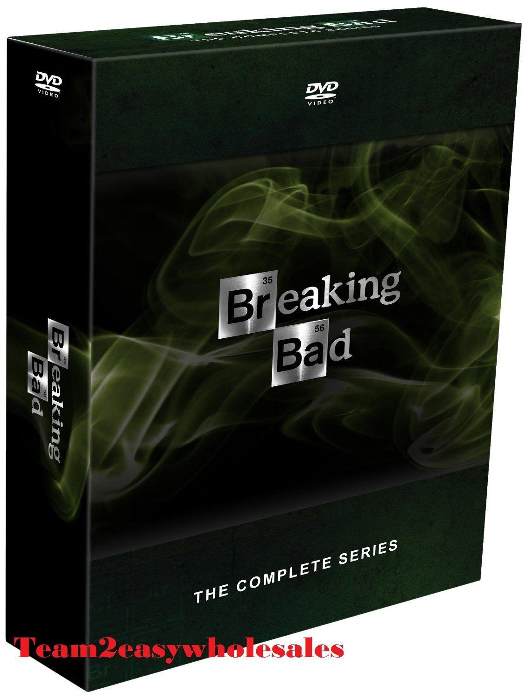 Купить Brand New Breaking Bad: The Complete Series (DVD, 2014, 21-Disc Set) season 1-6