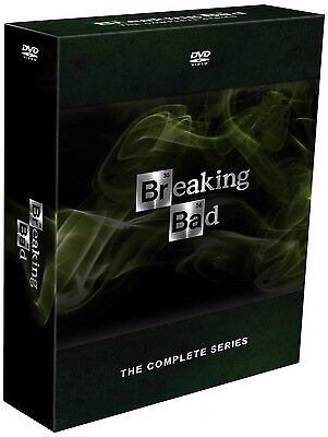 Купить Breaking Bad Complete Series (Seasons 1-5) DVD Set 21 Discs BRAND NEW Sealed!!