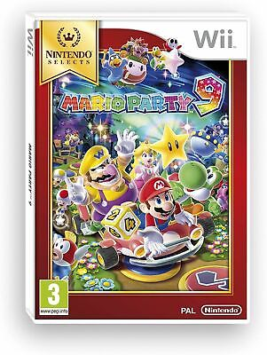 Mario Party 9 Nintendo Selects Wii Brand New Sealed Official