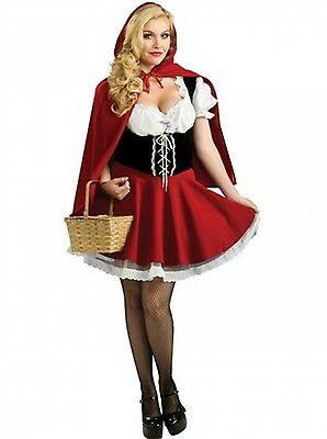 Red Riding Hood Costumes For Adults (Little Red Riding Hood Costume Halloween Cosplay Outfit For Women Adult)