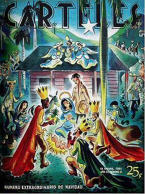 185.Decoration design Nativity poster