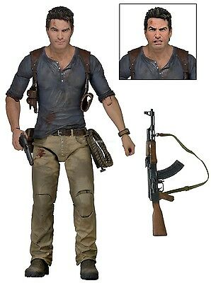 """Uncharted 4 - 7"""" Scale Action Figure - Ultimate Nathan Drake - NECA"""