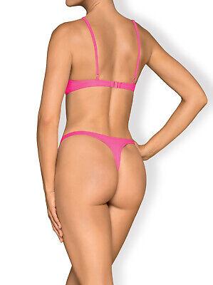 Bikini, Träger,Brasilian, String Mexico Beach NEONPINK. SONDERPREIS ! Größe L