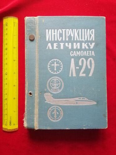 VTG RUSSIAN SOVIET AIR FORCE JET AERO L-29 DELFIN MAYA PILOT FLIGHT MANUAL BOOK