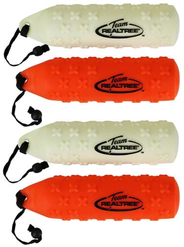 4-PK LARGE Realtree Dog Rubber Hunting Training Dummies Floatable Retriever Toy