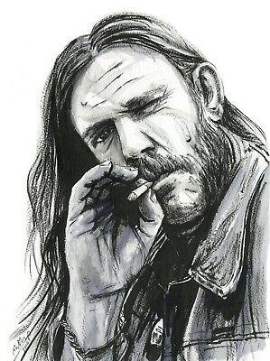 Lemmy A3 (297x420mm) Art Print