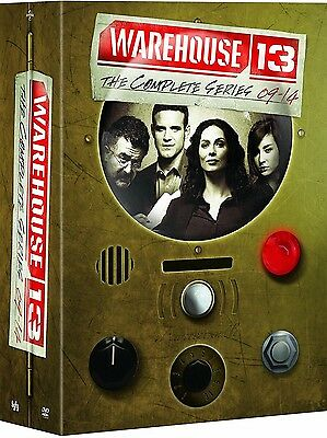 Warehouse 13: Complete Series Box Seasons 1 2 3 4 5 (DVD, 2014, 16-Disc Set) New