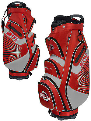 Team Effort Bucket II Cooler NCAA Collegiate Golf Cart Bag Ohio State Buckeyes