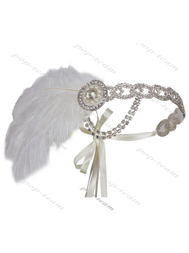 White Headpiece