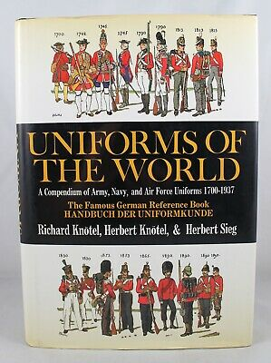 Uniforms Of The World: A Compendium Of Army, Navy & Air Force Uniforms 1700-1937 - Air Force Uniforms History