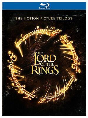 LORD OF THE RINGS ~ MOTION PICTURE TRILOGY ~ ALL 3 THEATRICAL VERSIONS ~