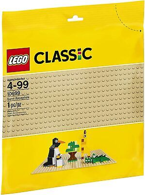 Lego 10699 Classic 4+ NEW Sand Baseplate 1 Piece