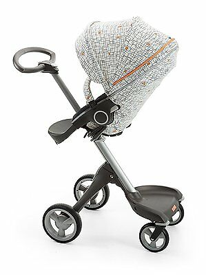 Genuine New Stokke Xplory/Crusi/Trailz Stroller Seat Style Kit - Grid