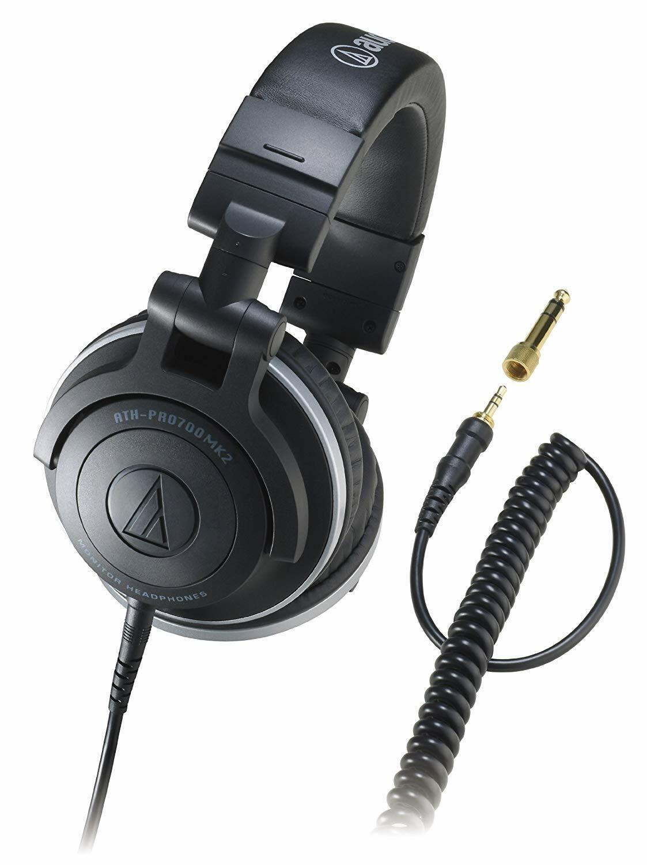 Audio Technica Ath-Pro700Mk2 Professional Dj Monitor Headpho