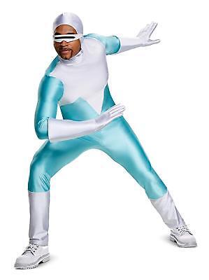 Frozone Disney Pixar Incredibles 2 Fancy Dress Halloween Deluxe Adult Costume