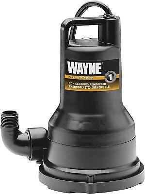Wayne Vip25 14 Hp Non-clogging Utility Sump Pump