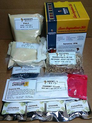 Brewer's Best One Gallon Home Brew Beer Ingredient Kit (Imperial IPA)