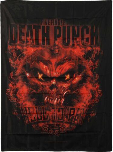 """Five Finger Death Punch Hell To Pay LPGI Fabric Textile Poster Flag 30"""" X 40"""""""