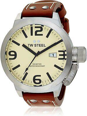 NEW TW Steel Canteen Men's Quartz Watch - TW21N