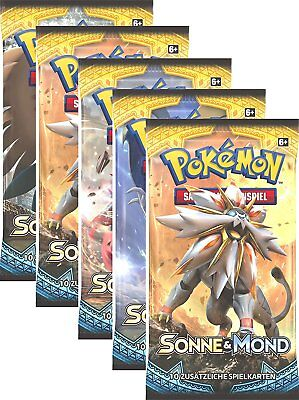 1 Pokemon Booster Pack ***Sonne & Mond*** in deutsch => NEU & OVP