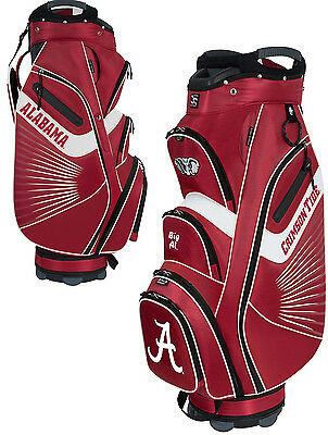Team Effort Bucket II Cooler NCAA Collegiate Golf Cart Bag Alabama Crimson Tide