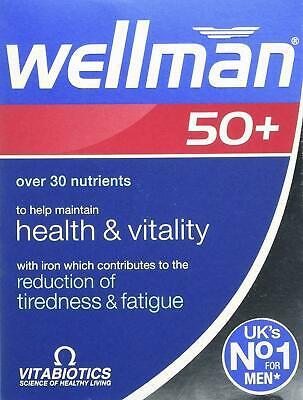 Vitabiotics Wellman Men 50+ Multi Vitamins Mineral