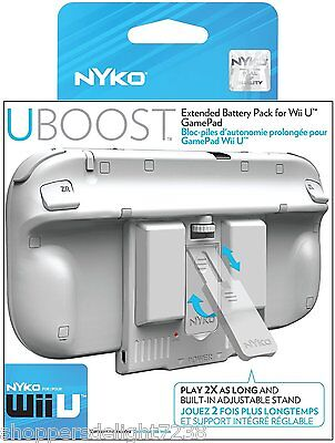 Nyko Wii U Uboost Extended Battery Pack For Nintendo Wii ...