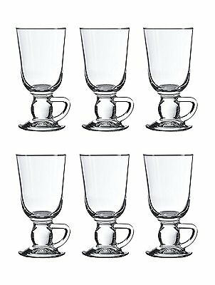 Pasabahce 44109 Irish Coffee Glastasse 280 cc 6 Stück Set Irish Coffee Set