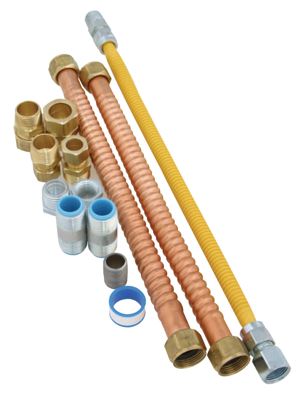 Utilitech Gas Water Heater Install Kit