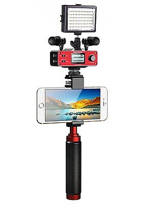 Saramonic Supreme Smartphone Video Kit w/Stereo Microphones for iPhone/Android