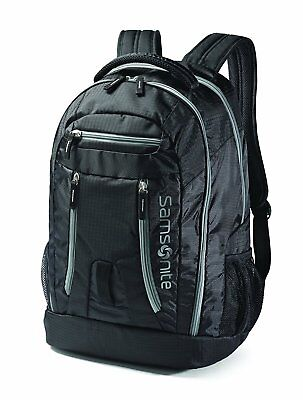 "New Samsonite Shera Unisex 15.6"" Laptop Multi Compartment Backpack - Black"