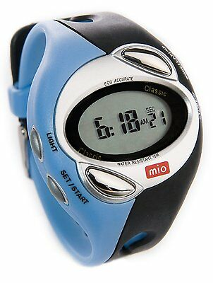Mio Classic Select Petite ECG Strapless Heart Rate Tracks Calories Sport Watch