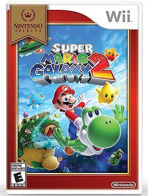 Nintendo Selects: Super Mario Galaxy 2 Brand Seal